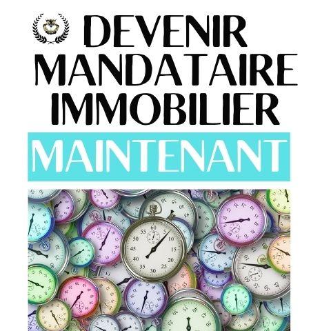 DEVENIR MANDATAIRE IMMOBILIER MAINTENANT